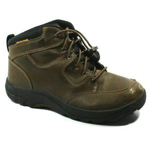 Keen Kids Garrison Brown Leather Boots Size 3